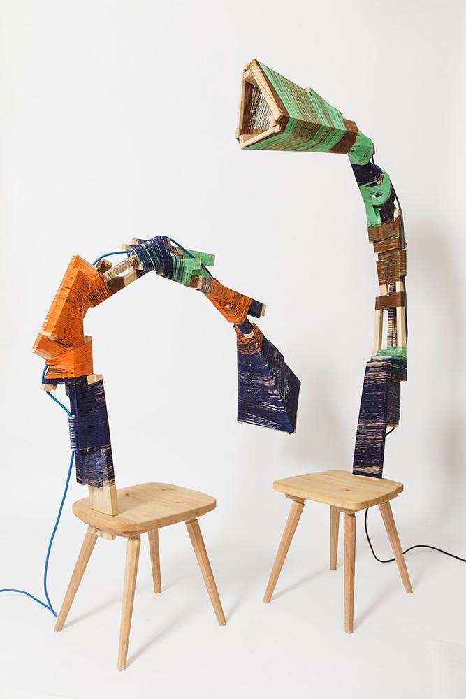 Anton Alvarez, light chair metamorphosis