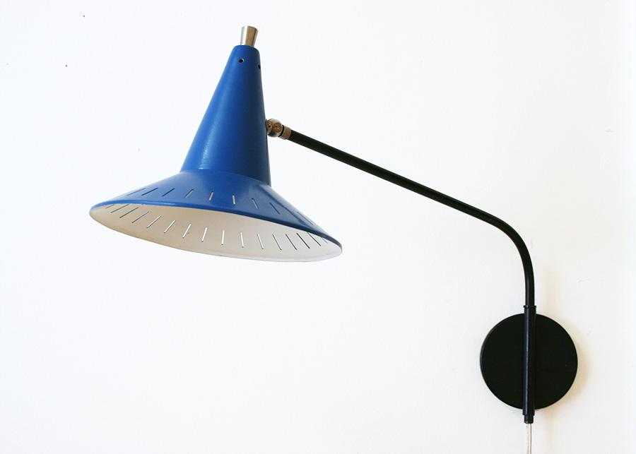 Vintage wall-lamp Hoogervorst Anvia Lausanne, Switzerland