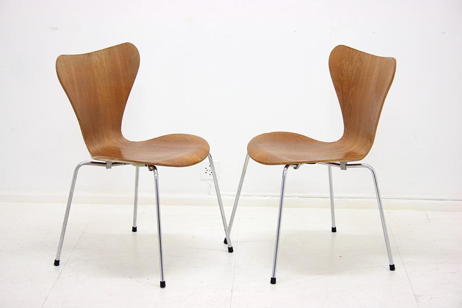 serie 7 chair arne jacobsen fritz hansen vintage. Black Bedroom Furniture Sets. Home Design Ideas