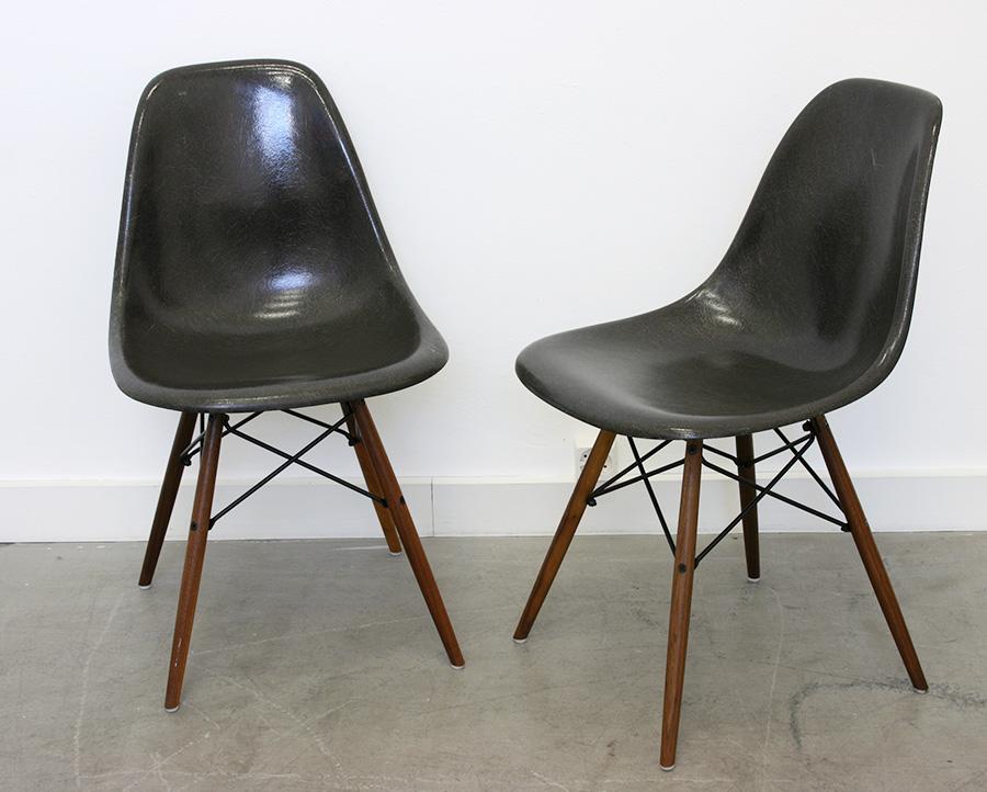 chaises dsw eames herman miller lausanne suisse. Black Bedroom Furniture Sets. Home Design Ideas