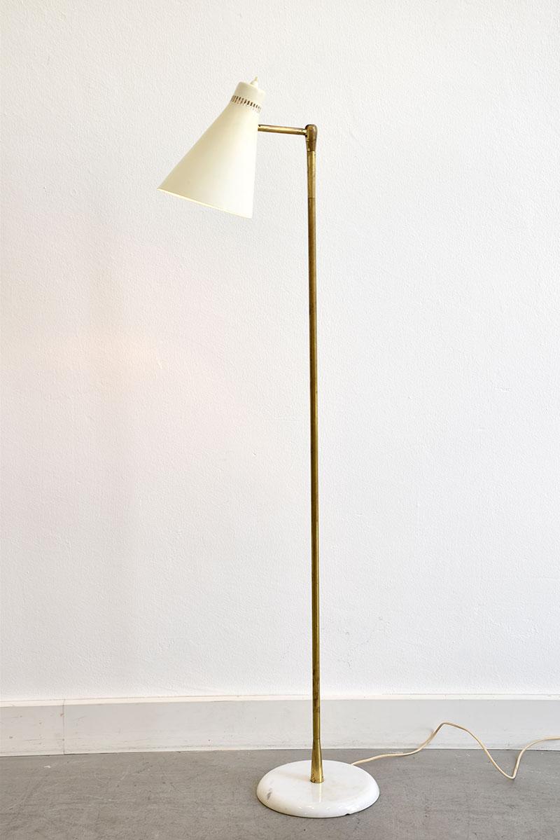 Lampe sur pied vintage attr bag turgi lausanne suisse for Lampe design sur pied