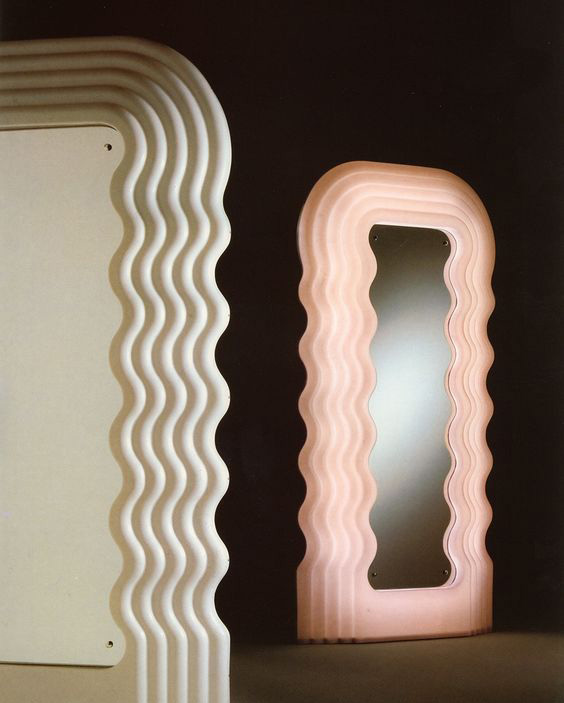 Ultrafragola Mirror Design Ettore Sottsass Poltronova
