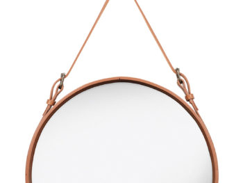 Mirror - Circulaire, M tan, Jacques Adnet, Gubi