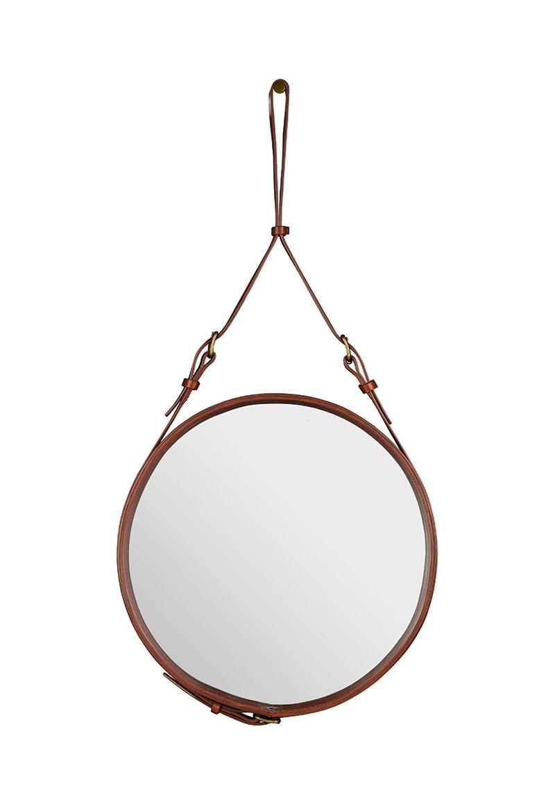 Spiegel Circulaire, S braun, Jacques Adnet, Gubi