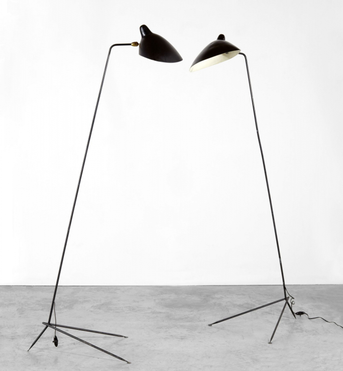 Serge Mouille, standing lamp