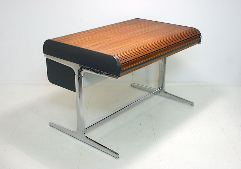 Rolltop desk, Action Office, George Nelson, Herman Miller