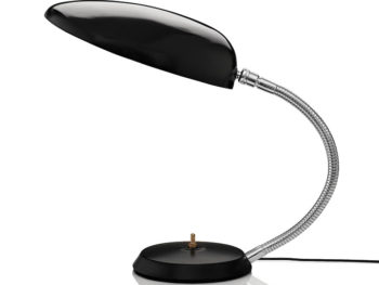 Cobra table lamp, black Greta Grossman, Gubi