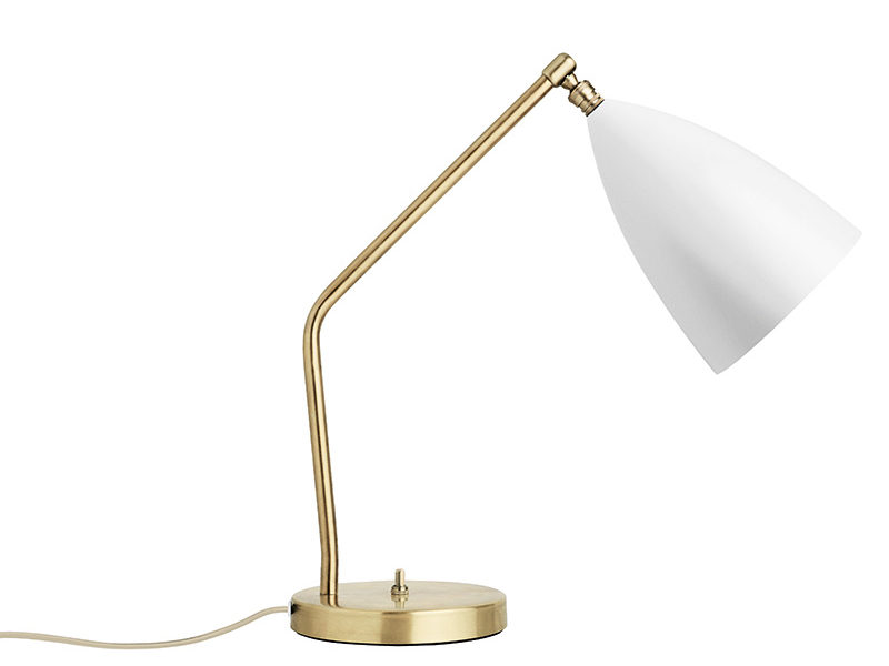 Lampe de table Grasshopper, blanc, Greta Grossman, Gubi