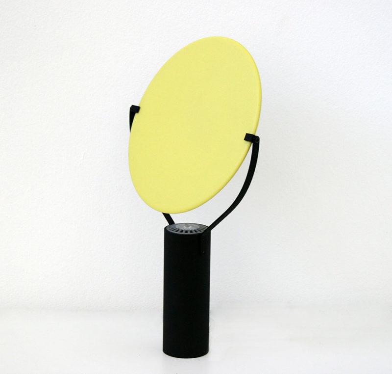 Lampe L'assiette, jaune