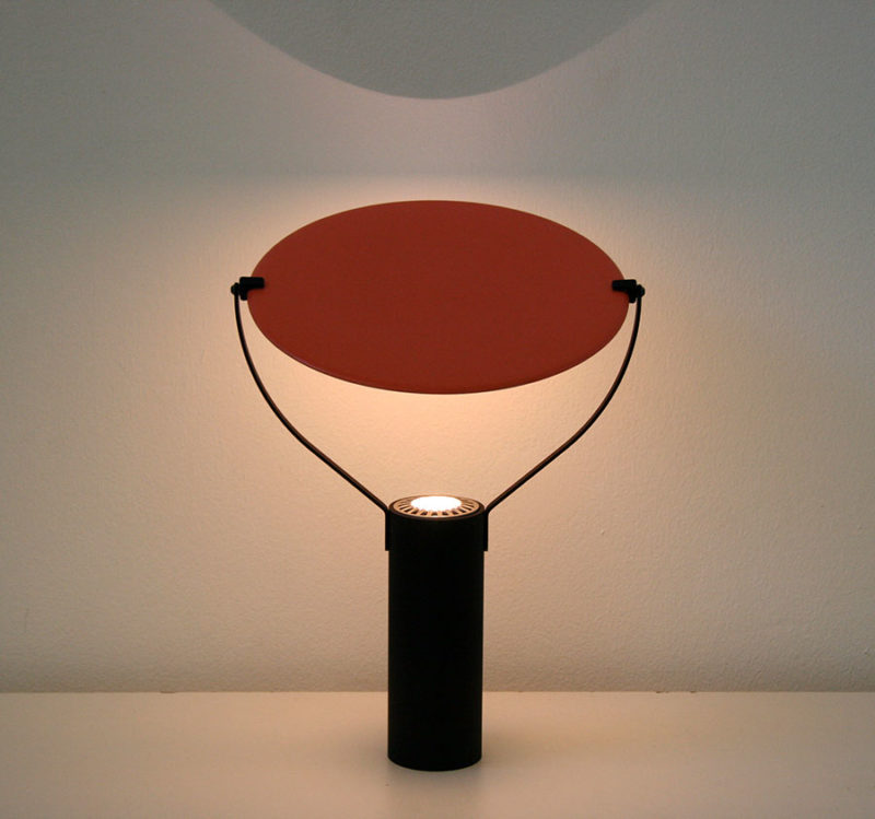 Lampe L'assiette, orange