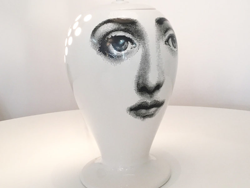 Lamp Lanterna Buona Notte, Fornasetti, Bitossi. Photo © Kissthedesign, Lausanne