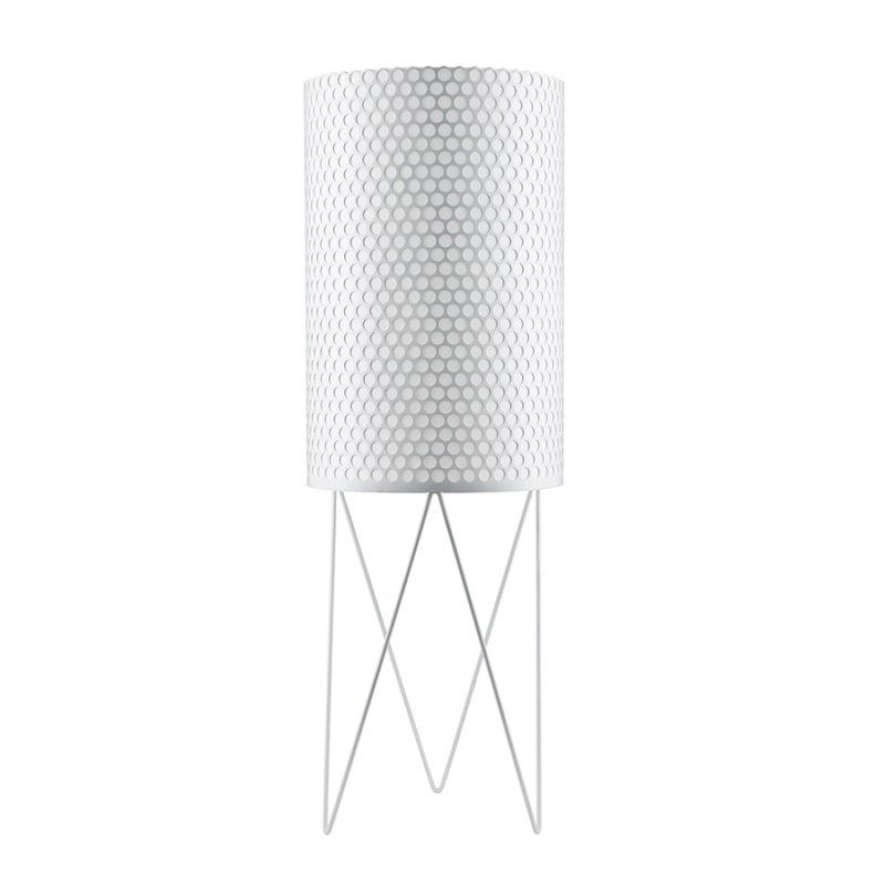 Floor lamp Pedrera PD2, white, Barba Corsini, Gubi