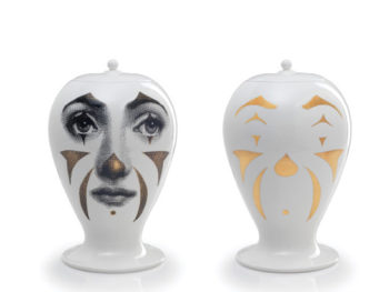 Vase Clown, Fornasetti, Bitossi