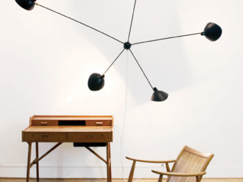 Applique araignée 5 bras, Serge Mouille, Kissthedesign