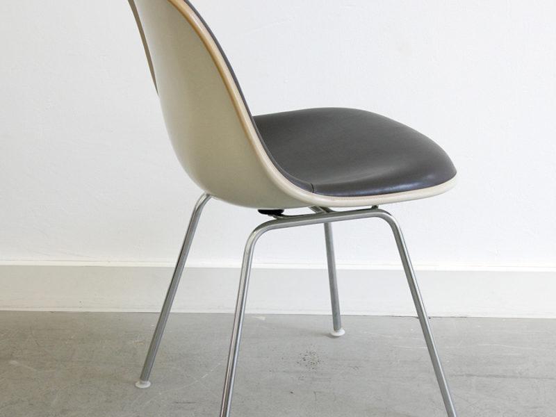 Chaise dsx, vinyle, Eames, Vitra