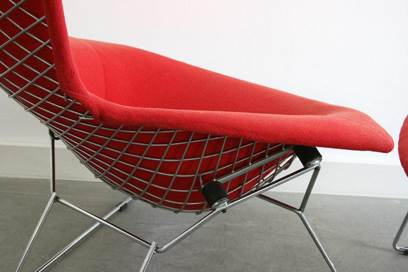Détail fauteuil Bird