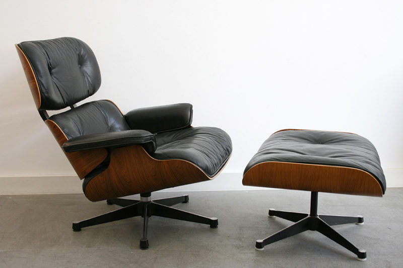 Lounge chair 670 with ottoman, Charles Ray Eames, Herman Miller, Vitra