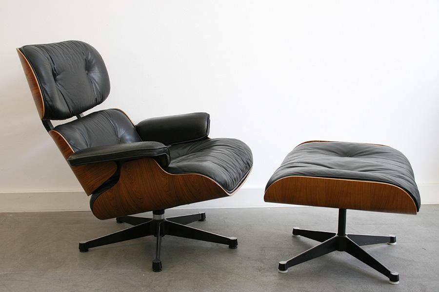 Lounge Chair Eames Miller Vitra Lausanne Switzerland - Fauteuil lounge eames