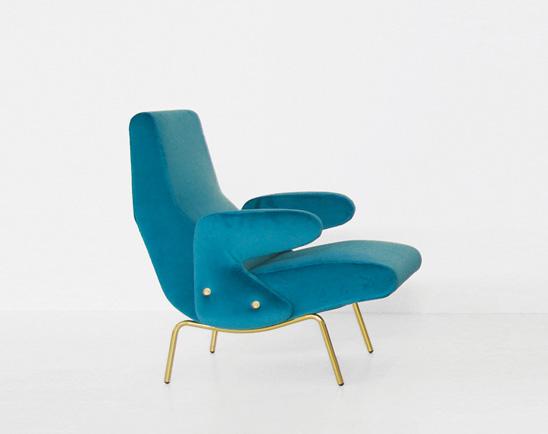 Delfino armchair, Erberto Carboni, Arflex