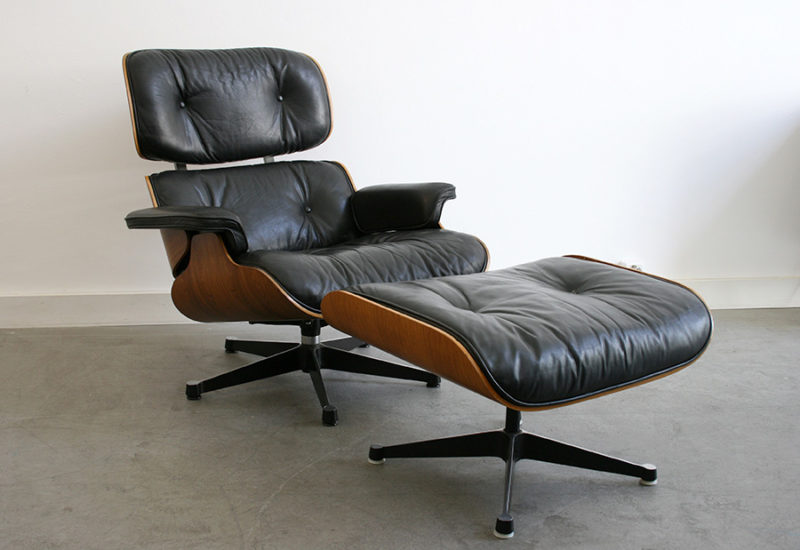 Lounge chair with ottoman, Charles Ray Eames, Herman Miller, Vitra
