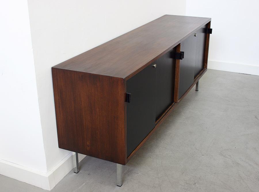 enfilade en palissandre florence knoll lausanne suisse. Black Bedroom Furniture Sets. Home Design Ideas