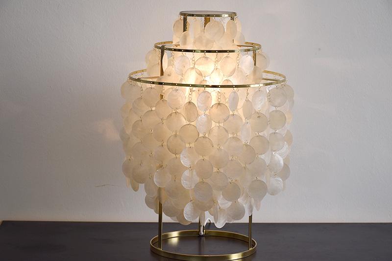 Lampe FUN 1TM, Verner Panton, Lüber, 1964