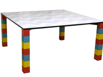 Table Pierre, George Sowden, Memphis Milano