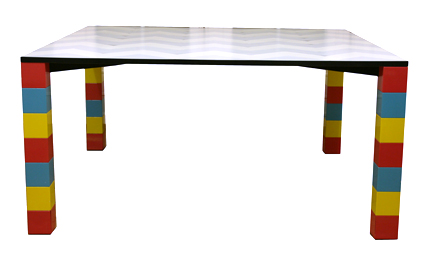 Pierre table, George Sowden, Memphis Milano