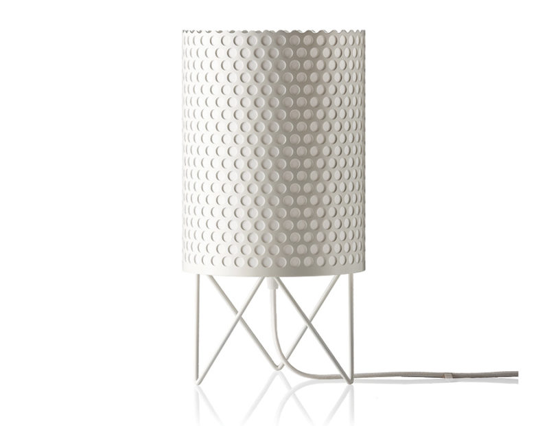 Table lamp Pedrera ABC, white, Barba Corsini, Gubi