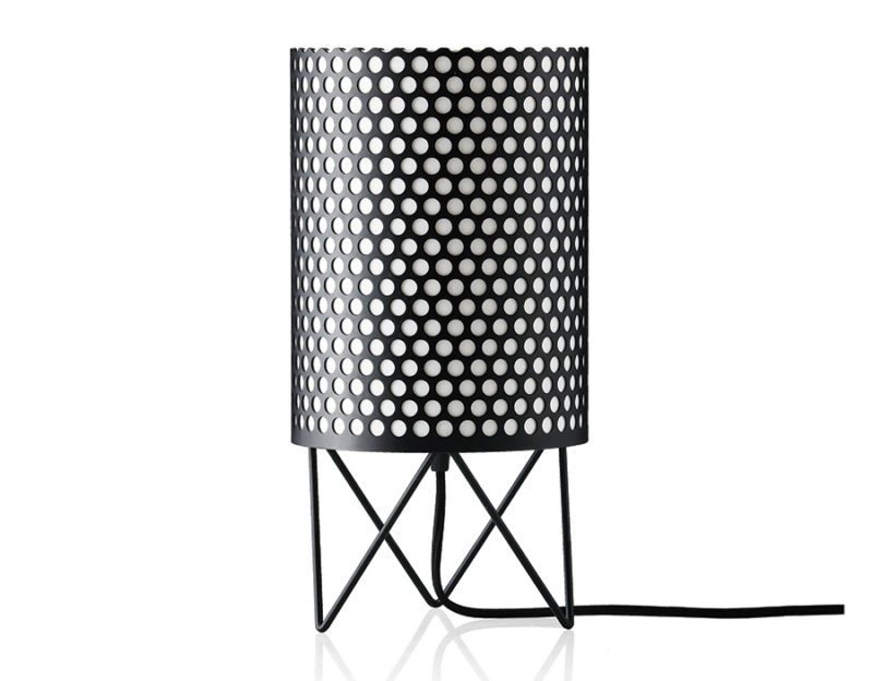 Table lamp Pedrera ABC, black, Barba Corsini, Gubi