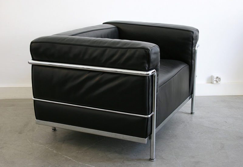 LC3 armchair, Le Corbusier, Perriand, Jeanneret, Cassina