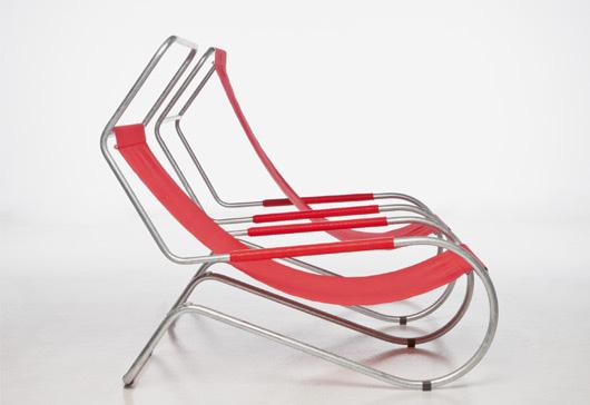 Chaise longue Lido, Giudici, Edition Wohnbedarf, wb form