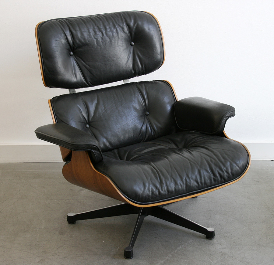 lounge chair eames miller vitra lausanne switzerland. Black Bedroom Furniture Sets. Home Design Ideas