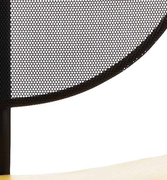 Detail perforated metal