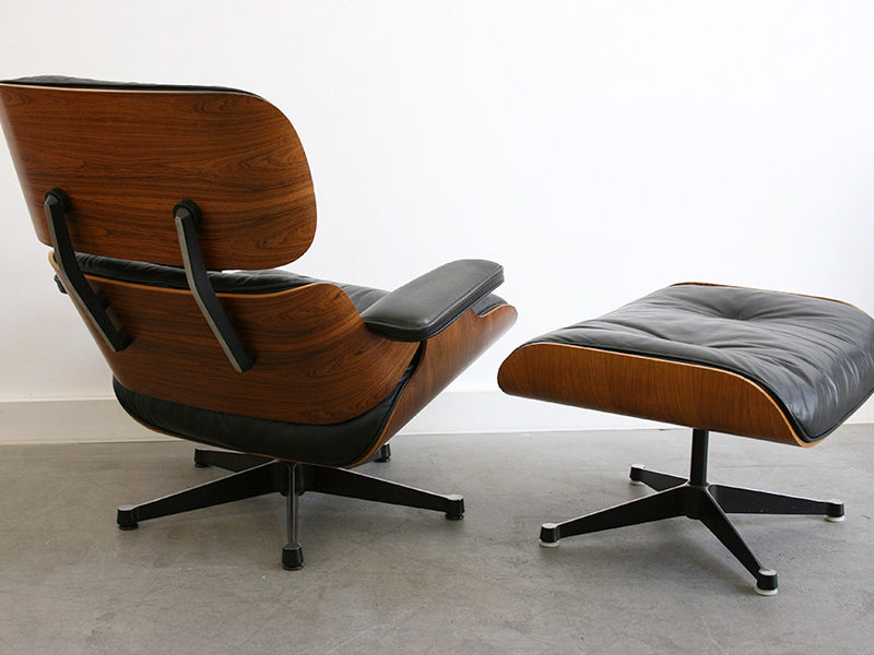 Sessel Lounge chair mit ottoman, Charles Ray Eames, Herman Miller, Vitra