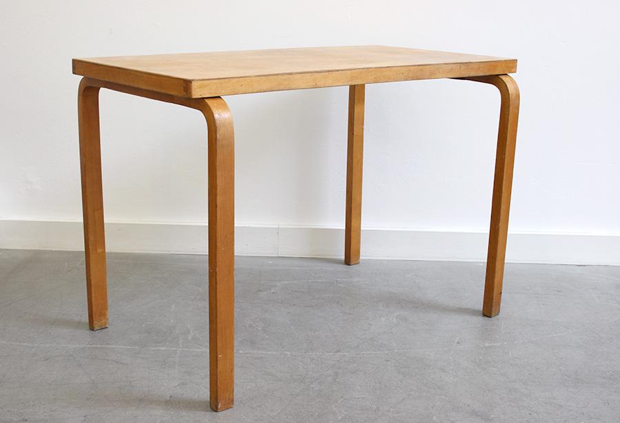 alvar aalto table 88 finmar vintage lausanne suisse. Black Bedroom Furniture Sets. Home Design Ideas