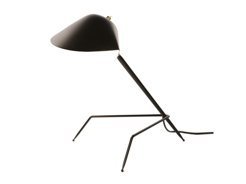 Tripod desk light, Serge Mouille