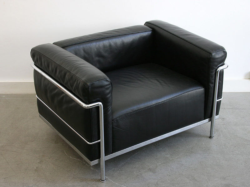 Fauteuil LC3, Le Corbusier, Perriand, Jeanneret, Cassina