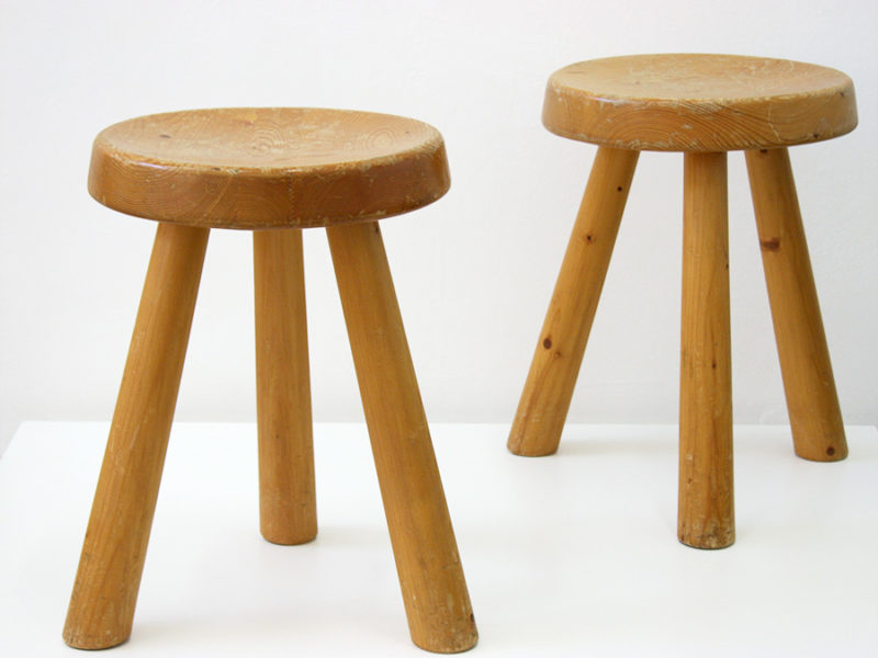 Stools, Charlotte Perriand