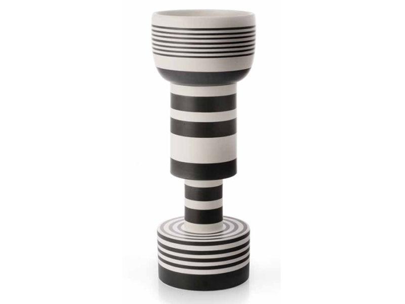 Vase Calice, céramique, Ettore Sottsass, Bitossi
