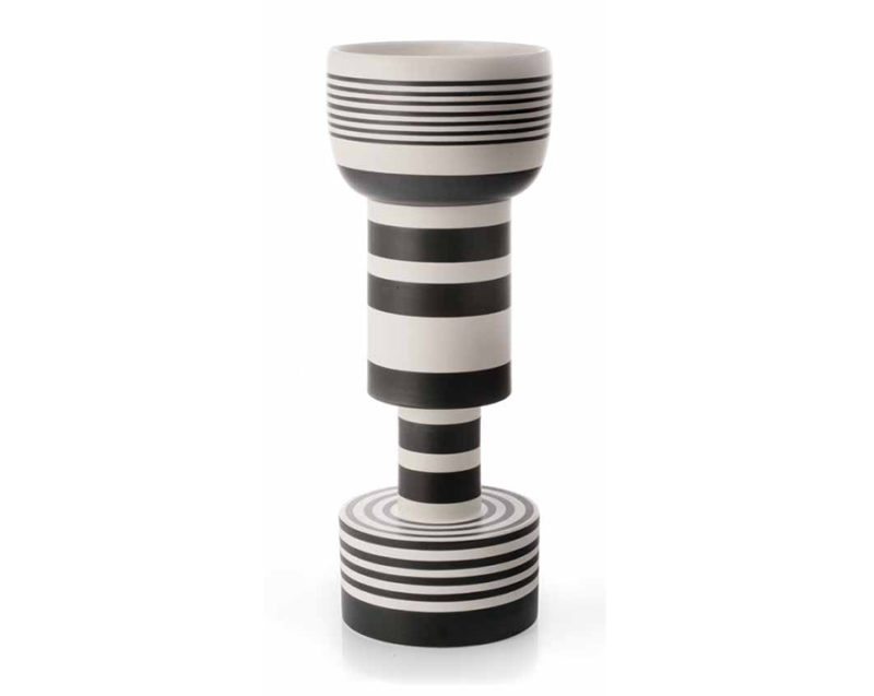 Vase Calice, Keramik, Ettore Sottsass, Bitossi