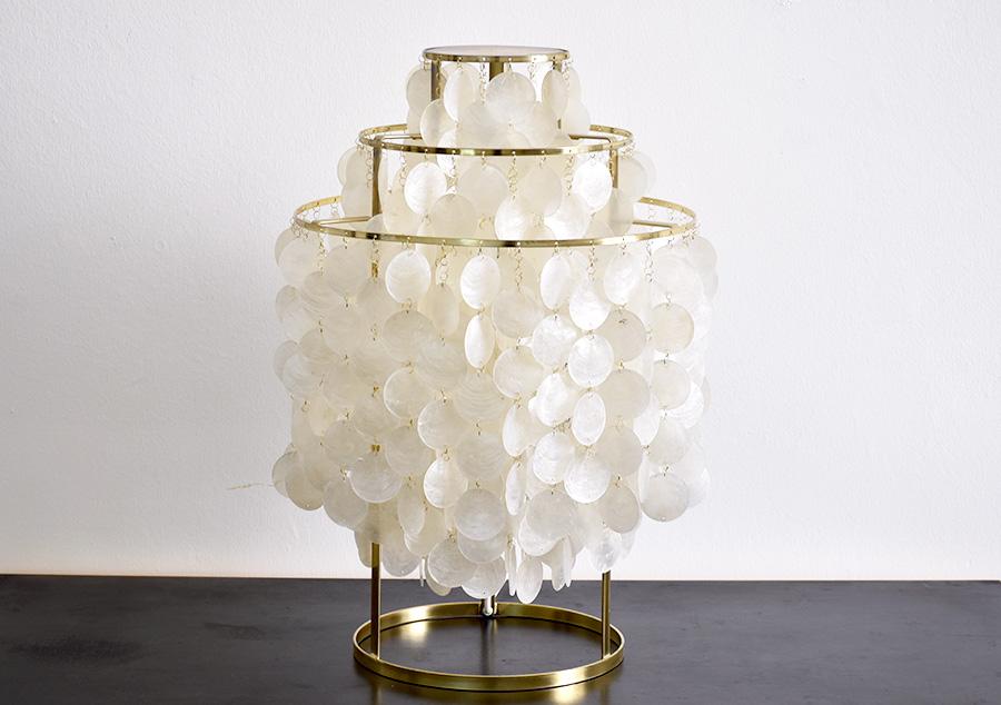 tischlampe fun 1tm panton l ber vintage lausanne schweiz. Black Bedroom Furniture Sets. Home Design Ideas