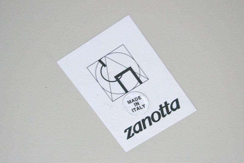 Etiquette Zanotta