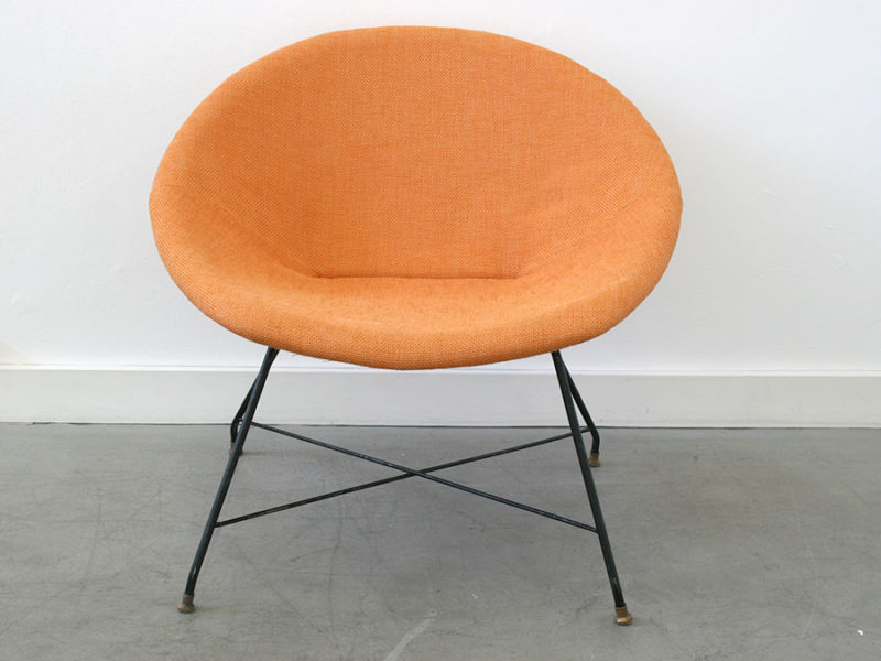 Lounge chair, Augusto Bozzi, Saporiti
