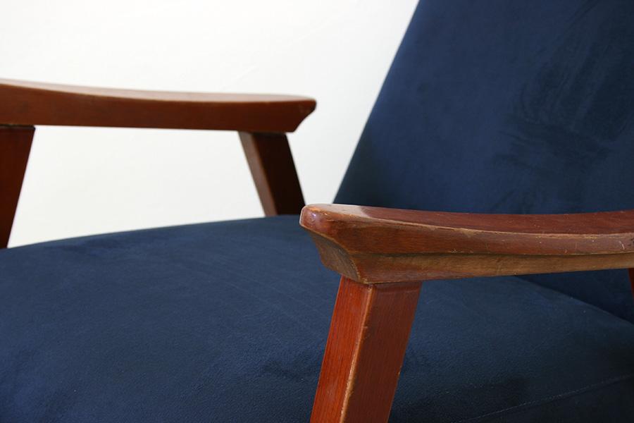 Vintage sessel italienisches design aus den 50er jahren for Sessel aus den 50er jahren