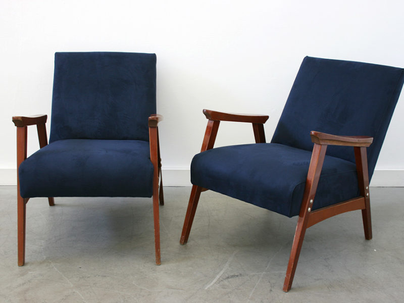 Pair of vintage chairs, Italian design from the 50's