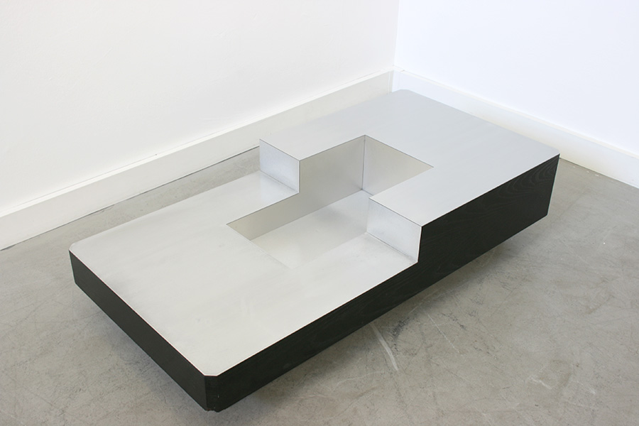 Vintage Coffee Table Willy Rizzo 20th Century Design Switzerland