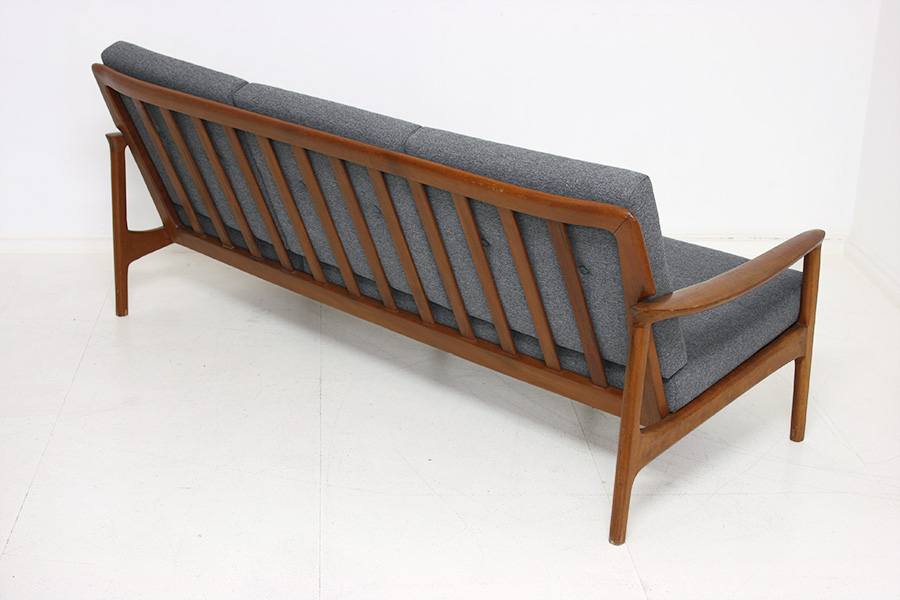 Danish design sofa vintage for Canape annee 60