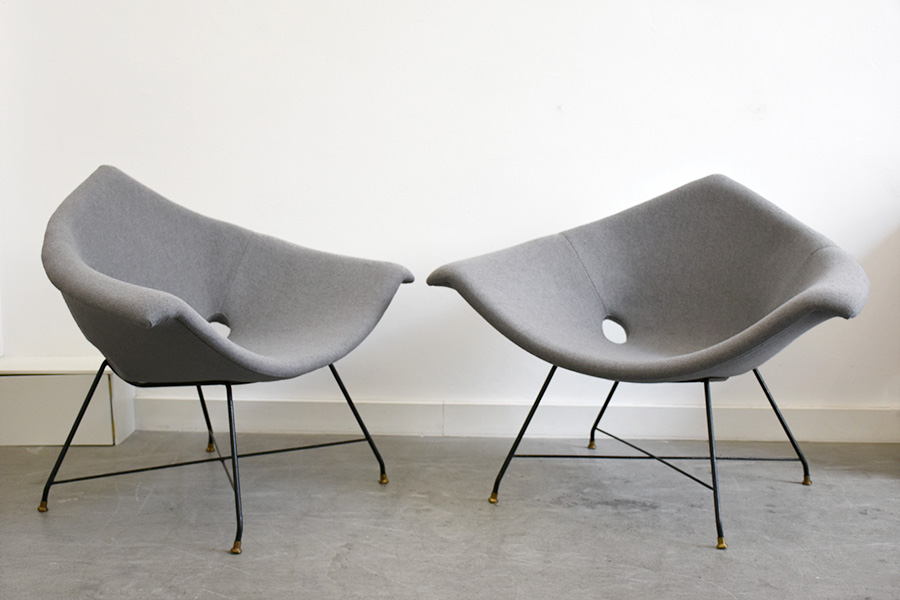 Augusto Bozzi Saporiti Lounge Sessel Designklassiker Schweiz