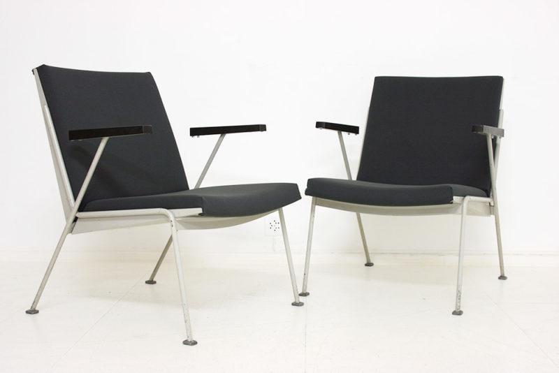 Oase chairs, Wim Rietveld, Ahrend De Cirkel